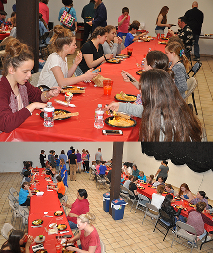 MFA Hosts Dinner Breaks for Oliver! Cast and Crew