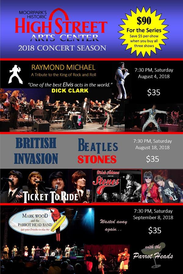 Concert Series 2018