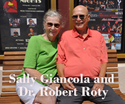 Sally Giancola and Dr. Robert Roty
