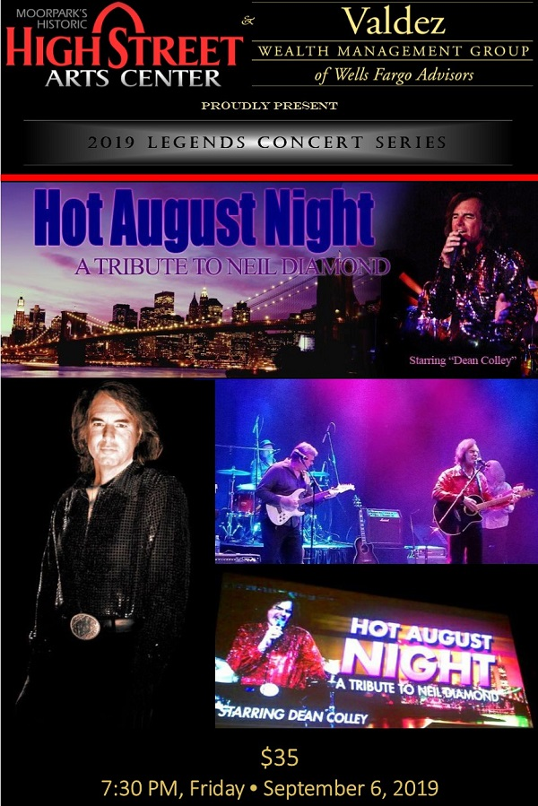 Dean Colley and Hot August Night