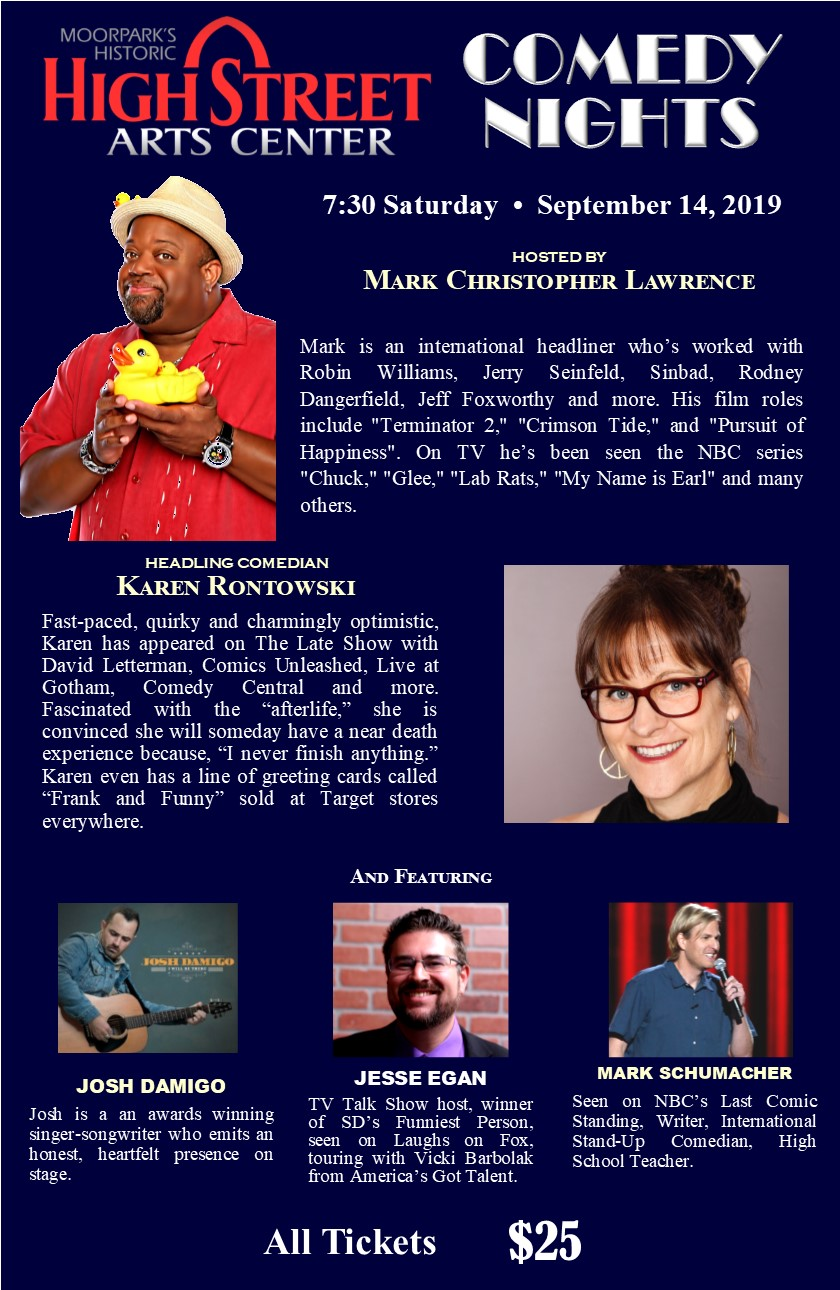 Comedy Night – September 14th