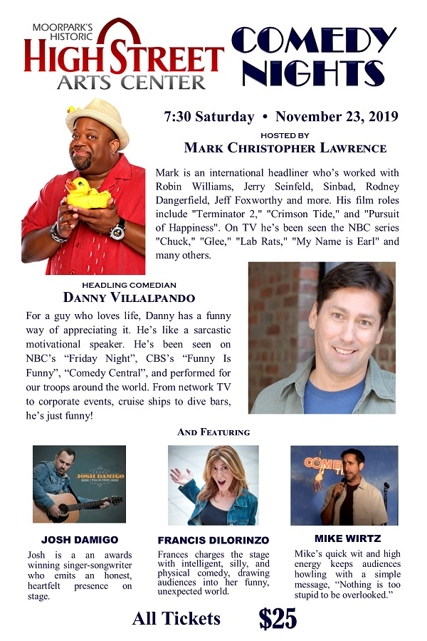 Comedy Night – November 23rd