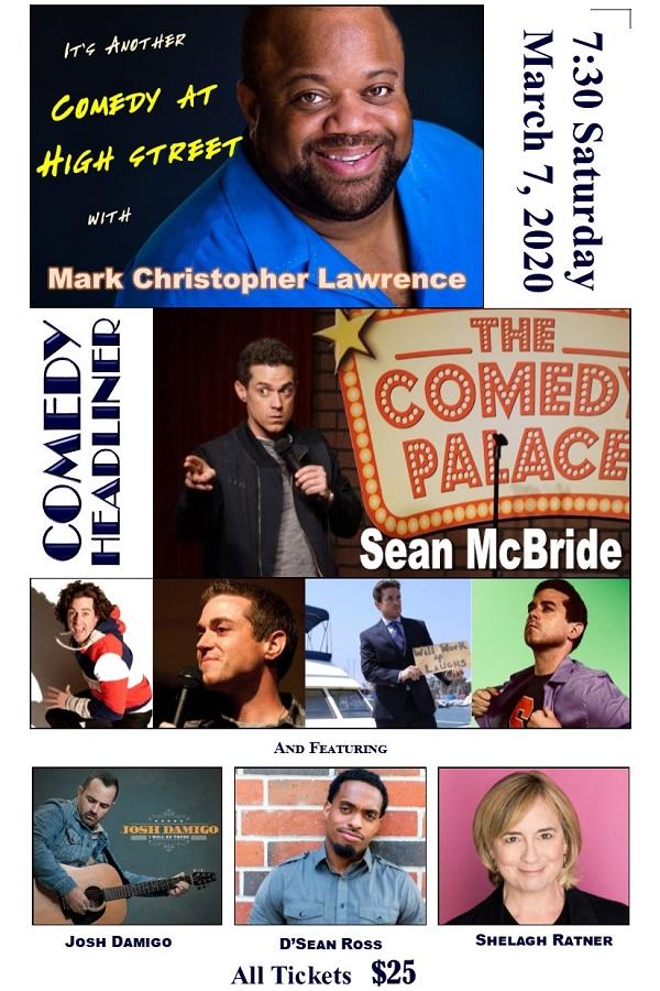 Comedy Night – March 7th